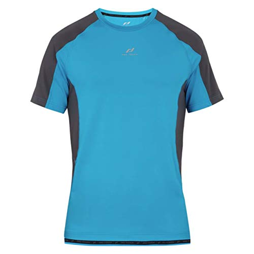 PRO TOUCH Inos T-Shirt Homme Blue/Anthracite FR: S (Taille Fabricant: S)
