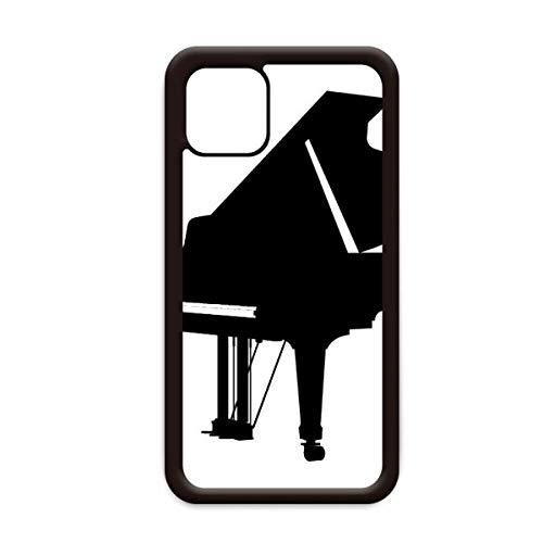 Piano Klassieke Muziek Instrument Patroon voor Apple iPhone 11 Pro Max Cover Apple Mobiele Telefoonhoesje Shell, for iPhone11 Pro Max