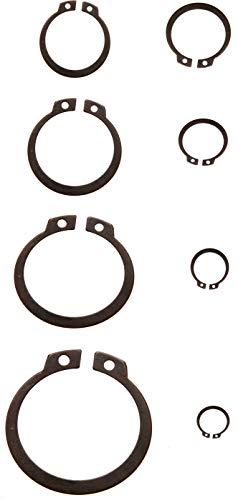 BGS 8046 | Surtido de anillos de seguridad exteriores (circlip) | Ø 3 - 32 mm | 300 piezas