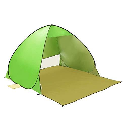BBGSFDC , Pop Up Open 1-2Person Sunshelter Rápido automático 90% UV-Protector Toldo Tienda para Acampar Pesca Sombrilla (Color : A)