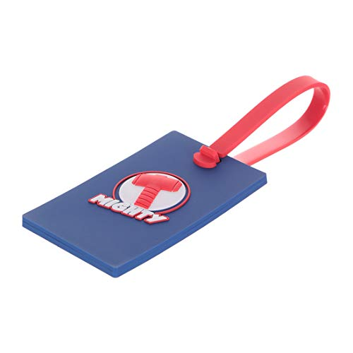 MINISO Marvel Luggage Tag for Journey Suitcase Silicone Suitcase Tag Personalized Luggage id Tags Labels for Travel - Thor