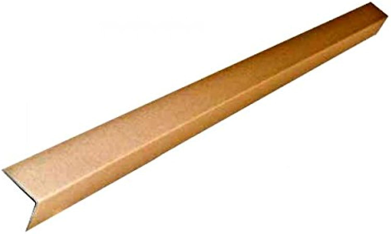 Karton Paletten-Kantenschutz Paletten-Kantenschutz Paletten-Kantenschutz 60 x 60 x 1100 mm aus Vollpappe 50 Stück Frei Haus B00P67UN3Q    | Deutschland  80a774