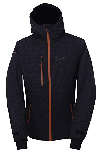 2117 Of Sweden Lanna Insulated Snowboard Jacket Mens Sz M Black