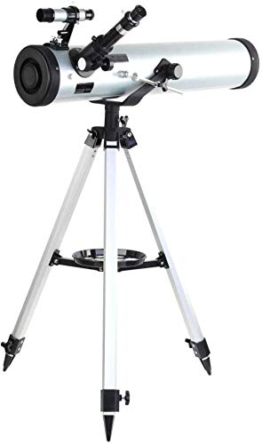 XQMY Telescopio astronómico Espacial Rendimiento 700-76 telescopio astronómico Reflector Adecuado para Adultos niños