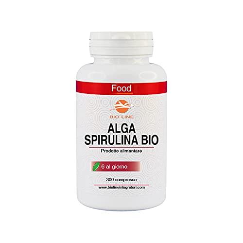 ALGA SPIRULINA BIOLOGICA in compresse, 300 compresse da 500 mg