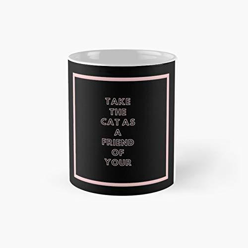 Taza clásica de gato   El mejor regalo divertidas tazas de café de 325 ml