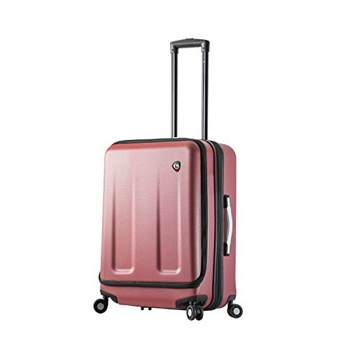 Great Features Of Mia Toro Italy Esotico 24 Inch Spinner Luggage, Red, One Size