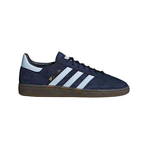 adidas - Zapatillas de balonmano Spezial para hombre, azul (Azul marino universitario/cielo claro/goma), 44.5 EU