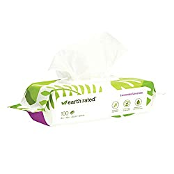 Earth Rated Dog Wipes, Plant-based, Compostable Wipes for Dogs