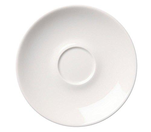 Finlande Saoudite 24H Blanc soucoupe 17 cm