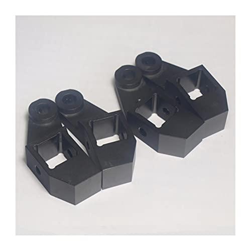 SHANGSHANG Zfuxiang STOR Extrusión de Marco de aleación de aleación de Aluminio de Color Negro Izquierdo + Kit de Esquina de Cama Derecha Adecuada for Bricolaje Lulzbot Taz 3D Impresora
