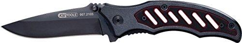 KS Tools 907.2105 klapmes met tas, 193 mm 115 mm, gesloten