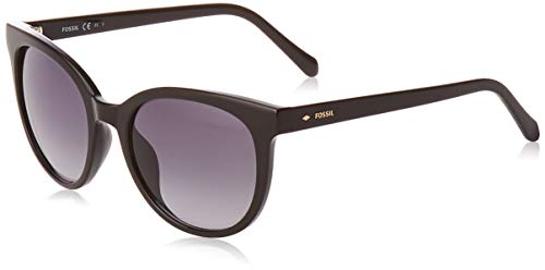 Fossil FOS 3094/S Sunglasses, Black, 51 Womens
