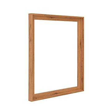 Pixy Canvas 11x14 inch Floater Frame for Canvas Paintings Wood Panels Canvas Panels & Stretched Canvas Boards Floating Frame fits 5/8  3/4  & max 7/8  Deep Artwork  Natural Oak 11 x 14 inch
