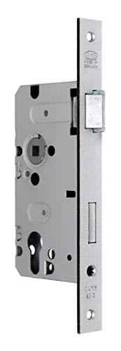 BKS Standard Zimmer Türschloss für Profilzylinder 55/72/8, Stulp: 24 x 235mm eckig, DIN Rechts incl. SN-TEC® Montageset