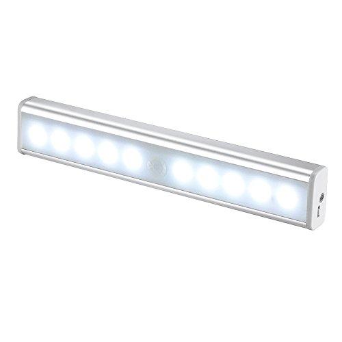 JESWELL Recargable Luz Armario con Interruptor, Lámpara USB LED Barra de Luz...