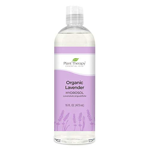 Plant Therapy Lavender Organic Hydrosol 16 oz (Flower Water) By-Product of Essential Oils