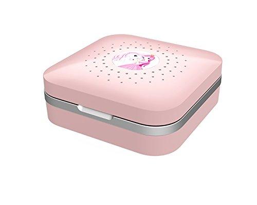 Dry-Care UV - Trockenbox / Trockenstation inkl. Etui für Hörgeräte - Kinder- rosa