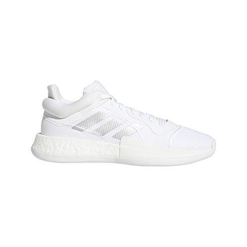 Adidas Marquee Boost Low, Zapatillas Deportivas Hombre, FTWR White/Silver Met./FTWR White, 42 2/3 EU