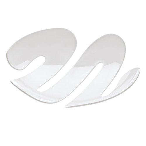 Koziol Eve - Bandeja/Centro de Mesa, Color Blanco sólido