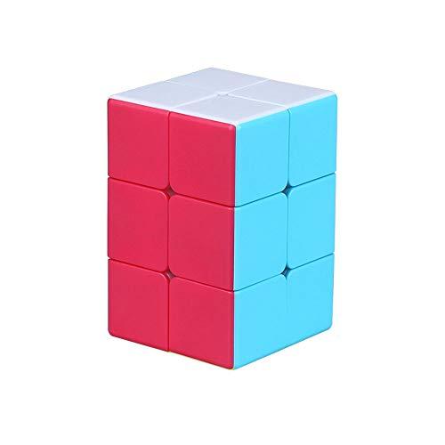 OJIN MO Fang GE 2x2x3 Cube Puzzle 2 Capas 2x2x3 Smooth Cube Smooth Puzzle Turning Cube Toy para Principiantes (Sin Etiqueta)