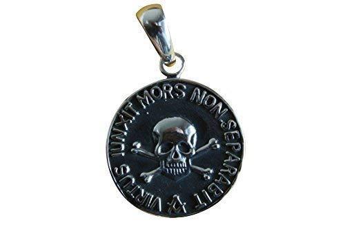 Masonic Freimaurer Wappen Siegel 925 Silber Anhänger