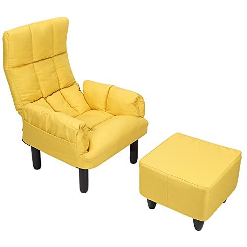 Greensen Silla reclinable y reposapiés, sillón, sillón, sillón reclinable, sillones Modernos, sofás...