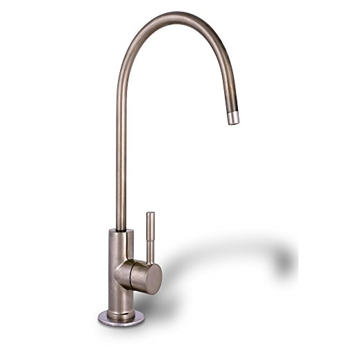 Ronaqua Water Filter Purifier Faucet European Style Brushed Nickel Well-Matched with GA1, KS3198A, 1WEBN1, NZ-6501
