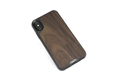 Mous - iPhone X/XS Hülle - Limitless 2.0 - Walnußholz - Bildschirmschutz Enthalten