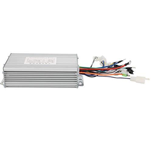 Okuyonic 48V 500W Instrumento Controlador sin escobillas Controlador de Velocidad sin escobillas Duradero No es fácil de Caer o deformar Dispositivo Fijo, fácil de Instalar y Quitar
