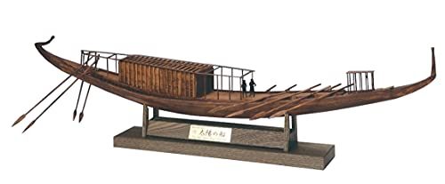 ウッディジョー 1/72 太陽の船 The first SOLAR BOAT 木製模型 組み立てキット