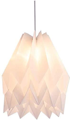 YQYL Lampadario in Stile Nordico Ristorante Studio Lamp Origami lampadario in Studio snowpuppe Castagno Acrilico LED