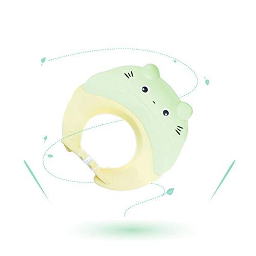 Casquette de Douche pour Enfants Shampooing pour bébé Casquette de shampoing pour artefact Casquette de shampoing pour Enfant ( Color : Green )