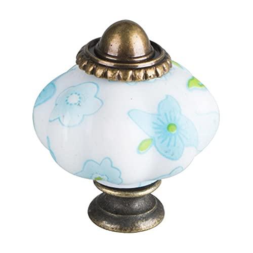 Pumpkin Cabinet Knobs Pulls Retro Drawer Door Knobs Handle Decorative Wardrobe Cupboard Dresser Furniture Knobs