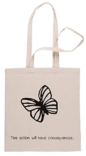 Rundi This Action Will Have Consequences Bolsa De Compras Shopping Bag Beige