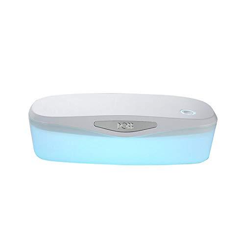 Phonleya UV Sterilisator Box Kosmetik Maniküre Tragbare Desinfektion Nagel Werkzeuge Salon Wiederaufladbare LED Pinzette Bürste Reinigungsbox