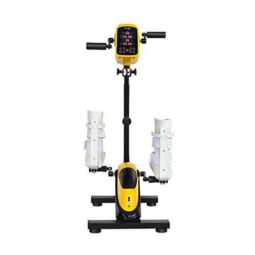 Ejercitador de pedales de bicicleta de escritorio, pedal antideslizante y monitor LCD para entrenador de oficina en casa, vendedor ambulante de ejercicios, ejercitador motorizado de pedal de pierna