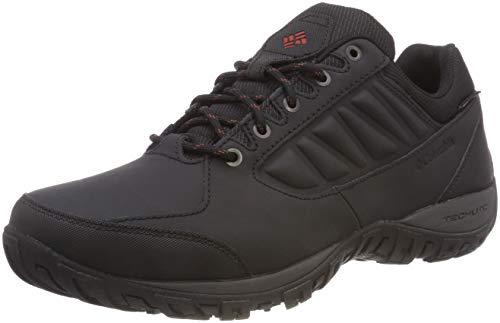 Columbia Homme Chaussures de Randonnée, Imperméable, RUCKEL RIDGE WATERPROOF, Taille 40.5, Noir (Black, Rusty)