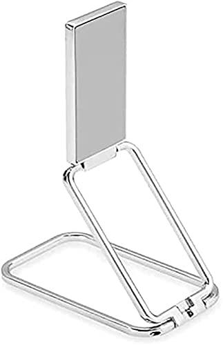 Soporte Magnético Retráctil para Anillo De Teléfono, Soporte para Anillo De Teléfono Soporte para Dedo Rotación De 360 ° Soporte para Teléfono Celular Ultrafino con Agarre Trasero (Blanco)