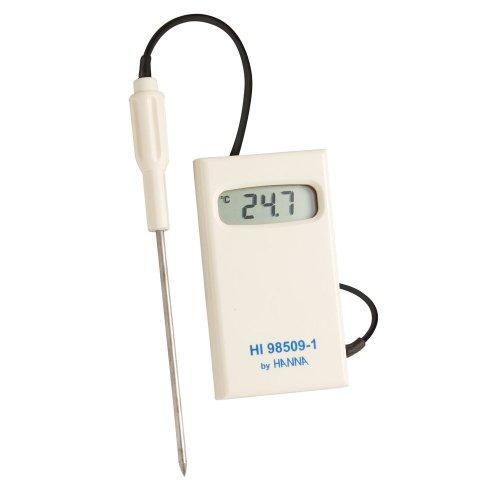 Hanna Instruments hi98509–1Checktemp–Termómetro digital con sonda de acero inoxidable, -50C a 150Degree C temperatura calificación