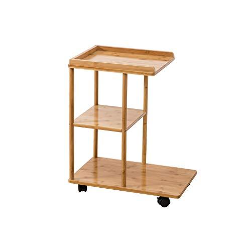 NYDZ Salon Mobile Petite Table Basse canapé côté Nordique Mini Table de Chevet Table d'appoint Trois Niveaux Table de Stockage Table Basse