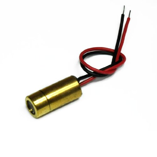 LASERFUCHS Kreuzlaser Kreuz Laser rot 650nm 5mW 45° 3-12VDC - 70104004