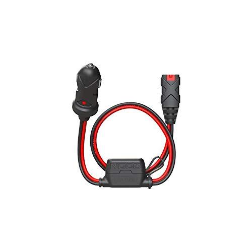 30200049 - Cable Cargador de Batería X Conecte 12V Dual-Size Macho Bujía Toma de Mechero 60CM