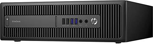 PC HP EliteDesk 800 G2 SFF Core i5 RAM 8 GB HDD 1TB Windows 10 Professional con Licencia Microsoft Authorized Refurbisher (Reacondicionado)