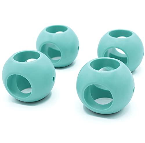 FISHTEC® Lot de 4 Boule Magnétique Anticalcaire - Pour Lave-Vaisselle et Lave-Linge