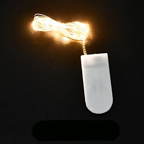 Luz de luz LED CAMBIERRO DE COBERTURA A prueba de agua Luz de batería DIY Herramienta de molde de resina Decoración de la boda de la fiesta de Navidad 1m 2m 3m 5m 10m