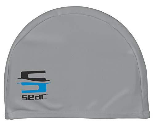 SEAC Lycra - Gorro de baño de Tela para la Piscina (Adecuado para Hombres y Mujeres)