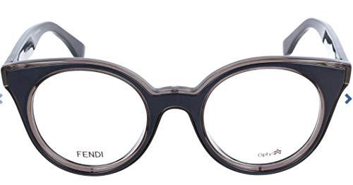 Fendi Brillengestelle FF 0198 0I1A Oval Brillengestelle 47, Blau