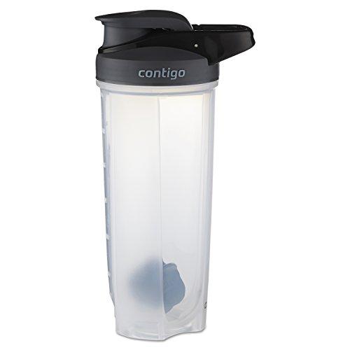 Contigo - 70290 Contigo Shake & Go Fit Snap Lid Shaker Bottle, 28 oz, Black