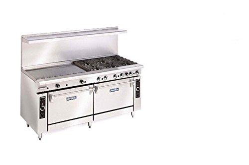 Imperial Commercial Restaurant Range 72' With 12 Burners 2 Convection Ovens Propane Ir-12-Cc
